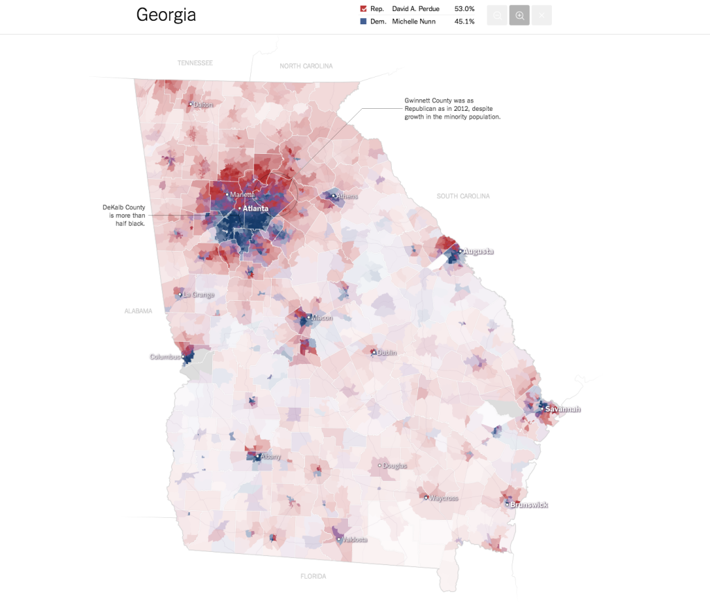 The Best 2014 Election MapsCustom Map Design And